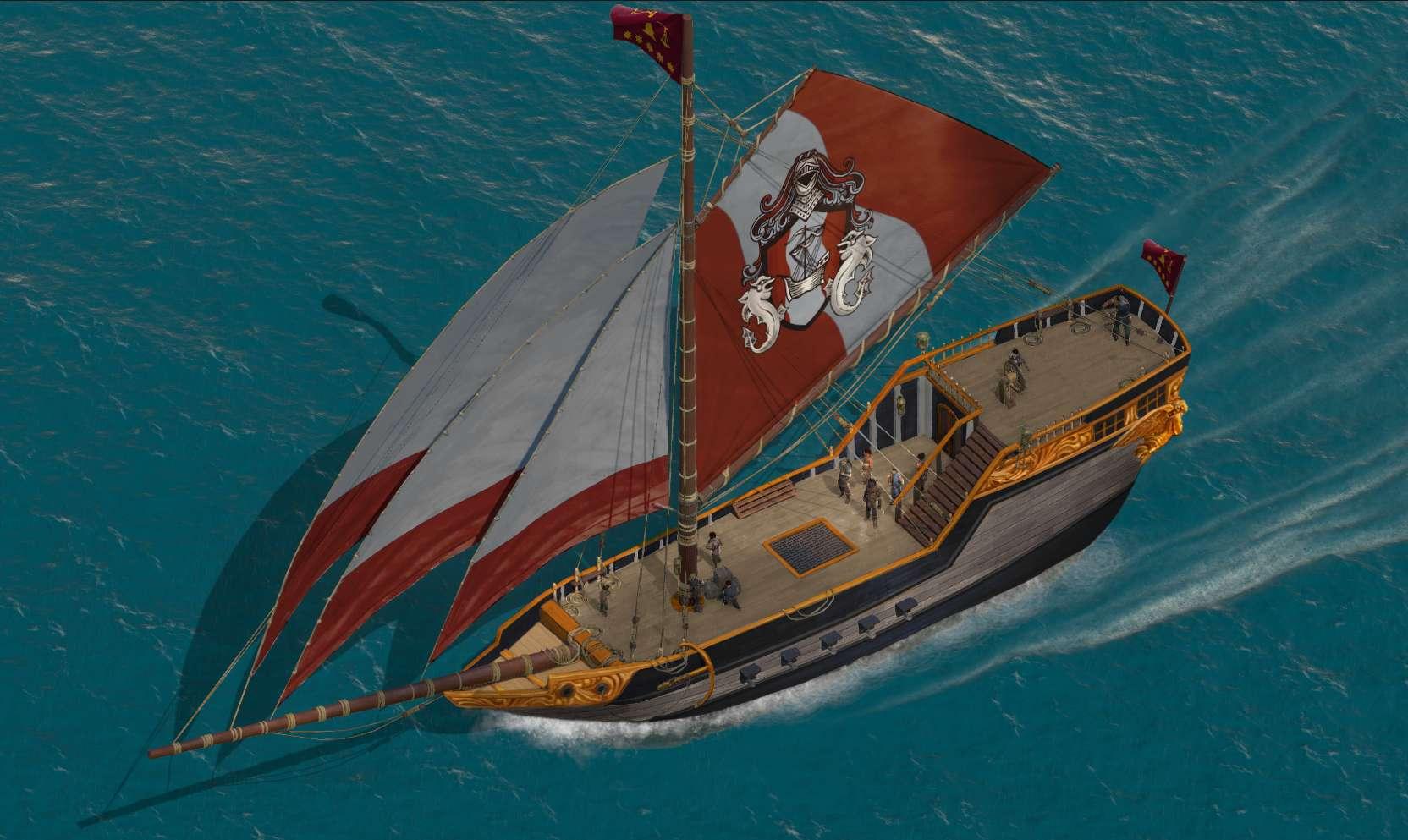 Deadfire Goes Sailing