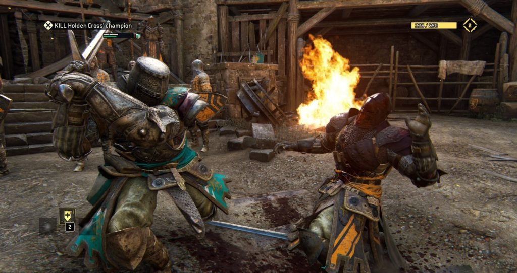 For Honor Review Screen