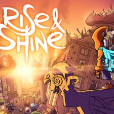 rise & shine art