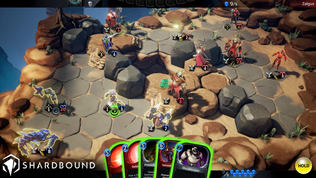 Shardbound Gameplay Screen