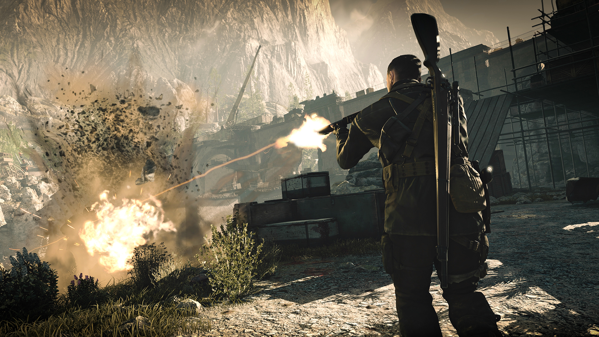sniper elite 4 gameplay
