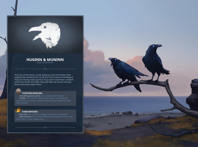 Northgard - Clan of the Raven