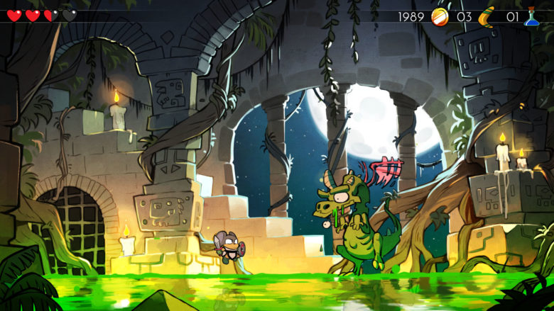 Wonderboy: The Dragon's Trap lands on Xbox, PS4, and Switch April 18th