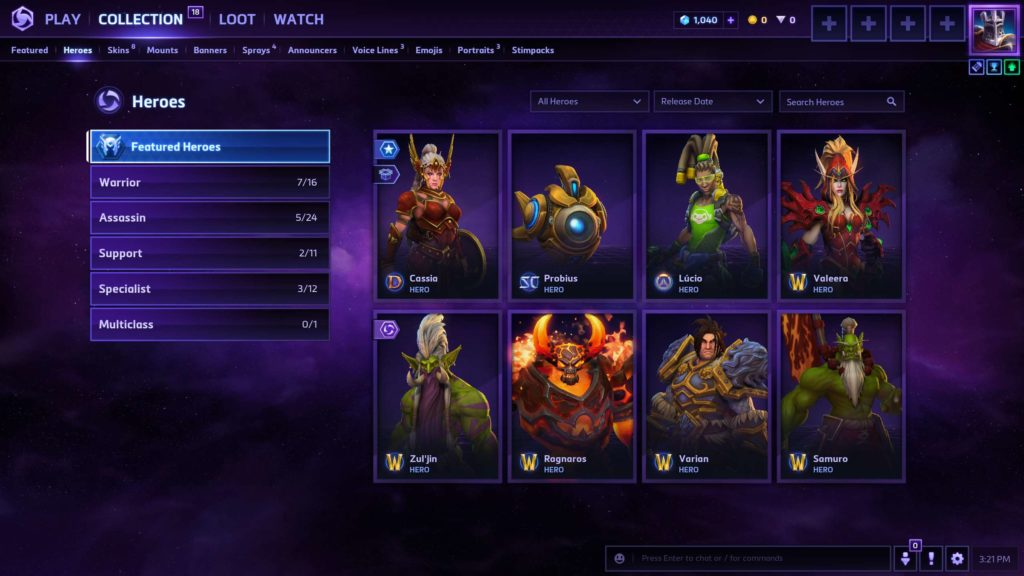 heroes of the storm 2.0