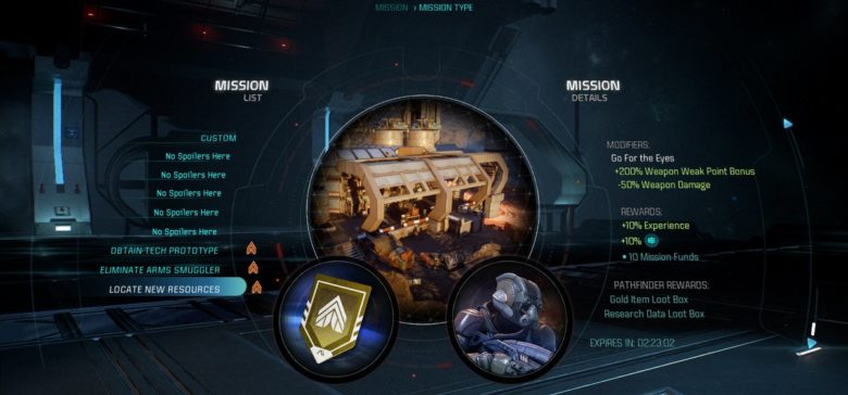 Mass Effect Andromeda Teases Missions
