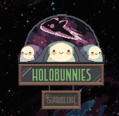Holobunnies Pause Cafe