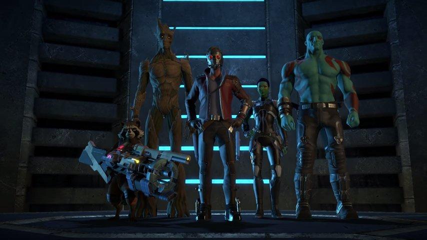 guardians   galaxy  gameplay trailer   gamespacecom