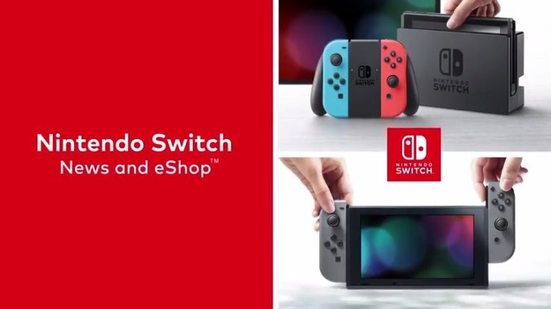 Switch eShop video