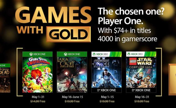 Games with Gold May