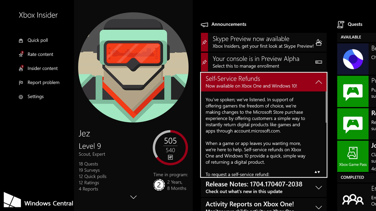 Microsoft Is Testing New Refund Program For Xbox And