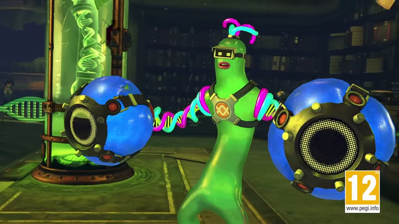 ARMS new fighter Helix is a sexy green blob