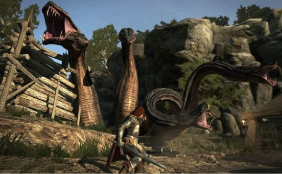 Dragon's Dogma: Dark Arisen on PS4 this fall