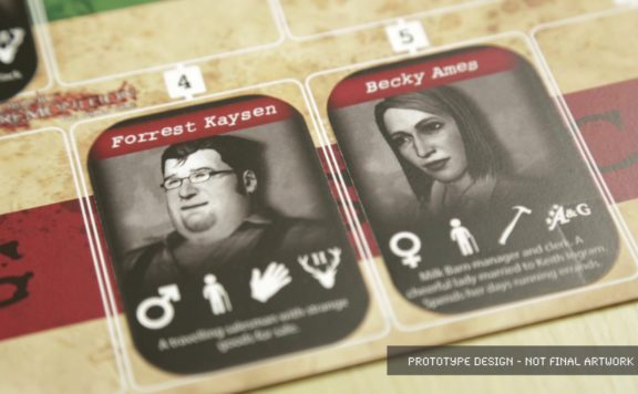 Deadly Premonition: The Board Game