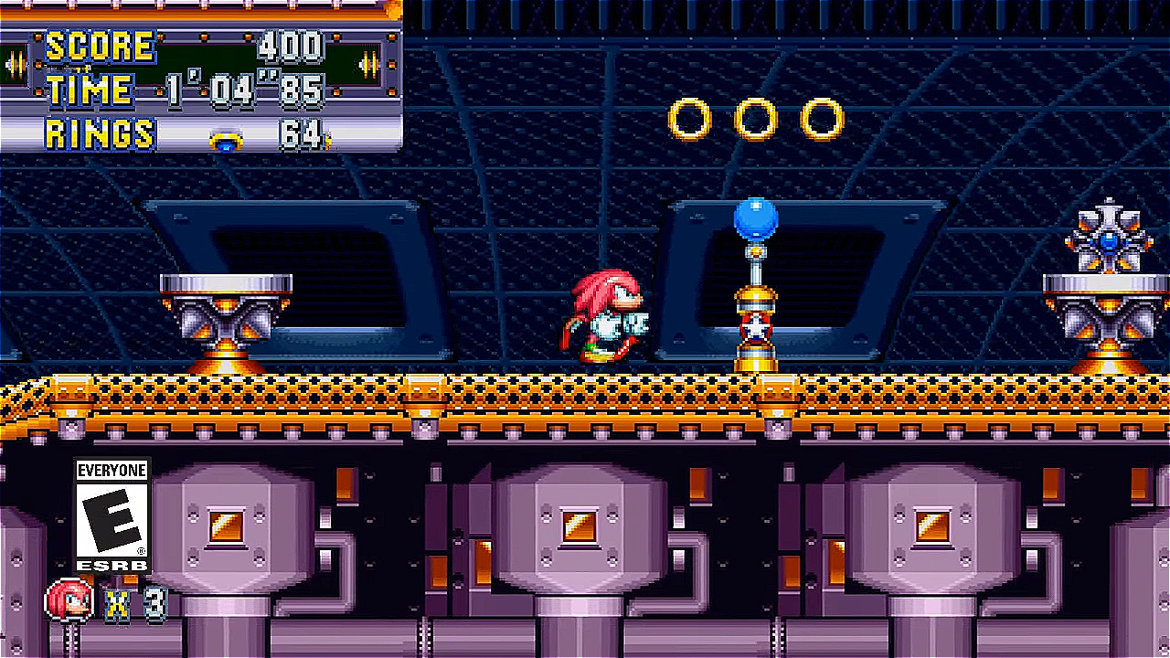 Knuckles The Echidna - Sonic Mania