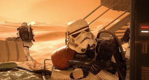 """Star Wars Battlefront""(Public Domain)byshadow_trooper"