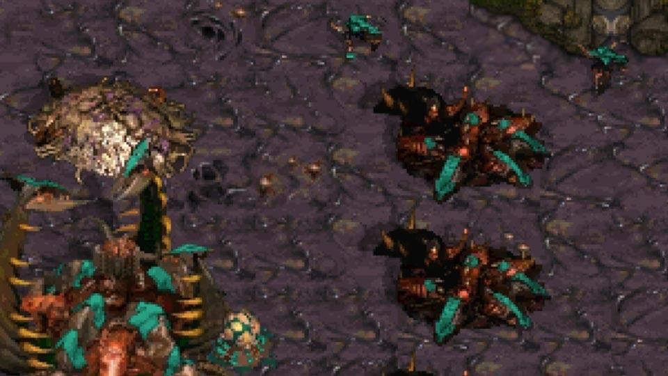 StarCraft Remastered Zerg