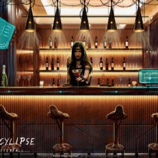 Epocylipse the AfterFall Bar Concept