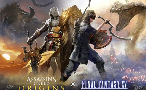 Final Fantasy XV Assassin's Creed Origins Festival