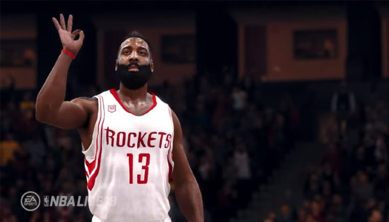5c344e73d7d NBA Live s The One Game Mode and James Harden as Cover Athlete ...