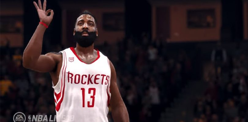 NBA Live's The One Game Mode and James Harden as Cover Athlete