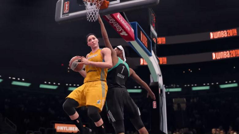 WNBA in NBA LIVE 18