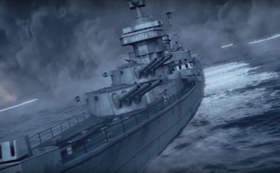 warship rising