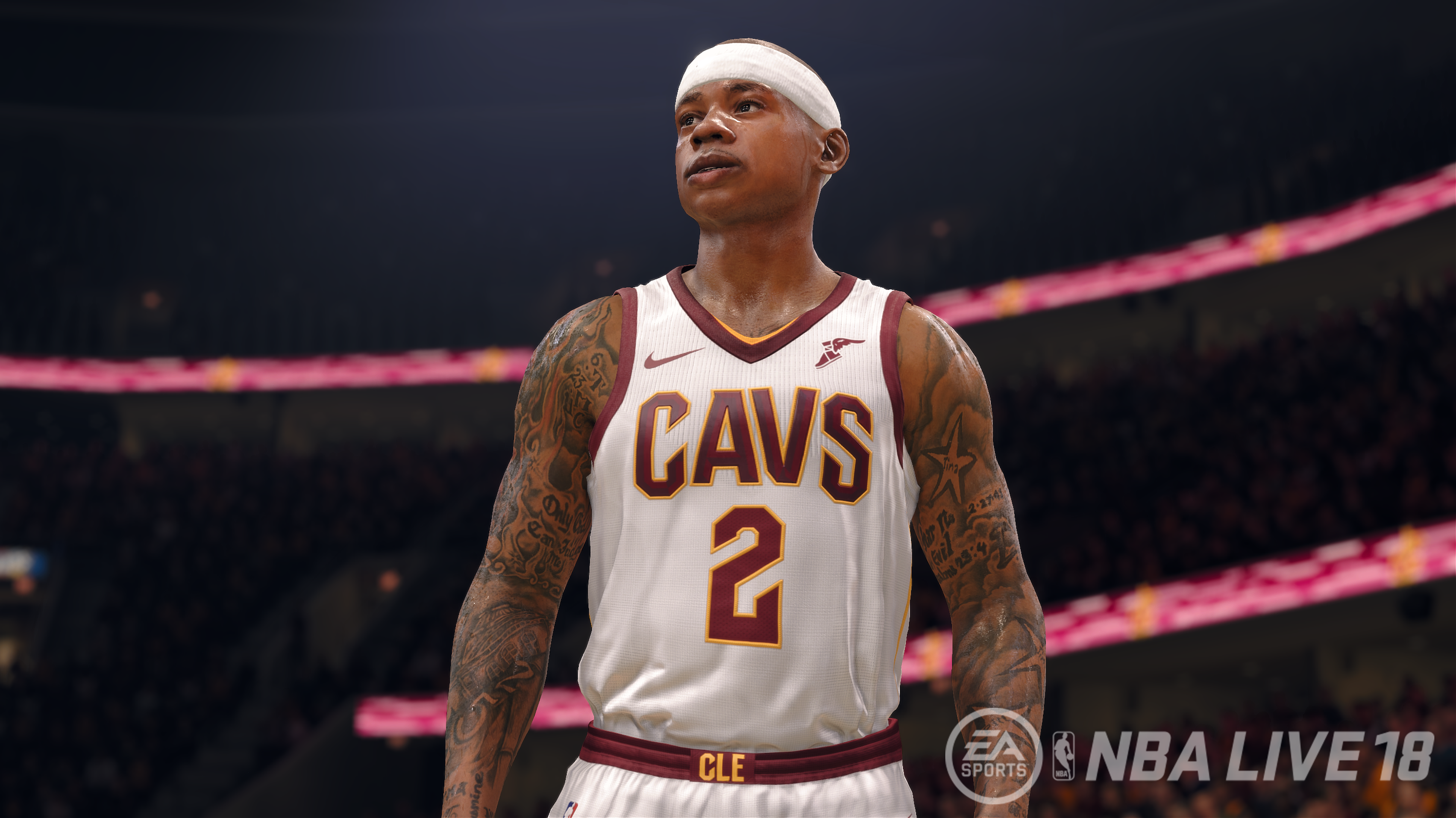454eeec2a2e Isaiah Thomas in the Wine and Gold with NBA Live 18 s Demo - GameSpace.com
