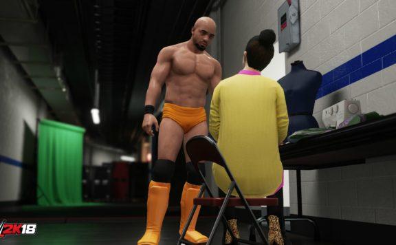Mycareer WWE 2k18