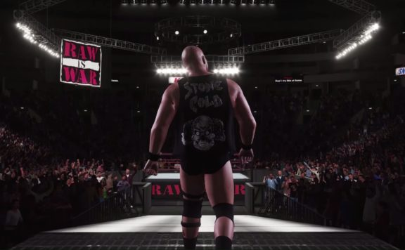 WWE 2K18 Gameplay Footage