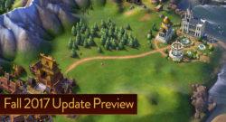 Civilization VI Fall 2017 update