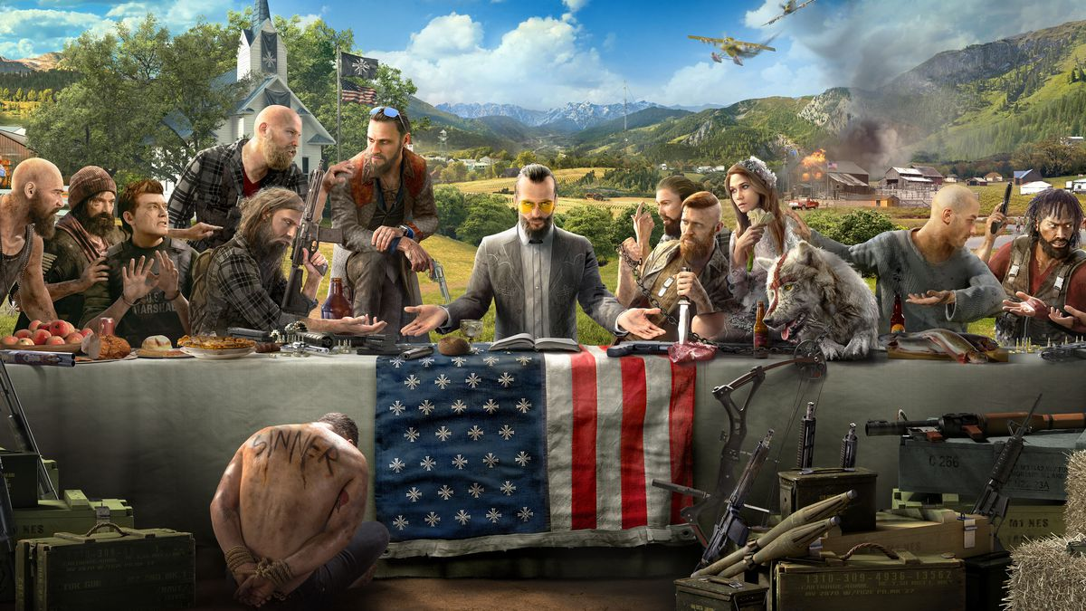 Far Cry 5 The Pastor Versus The Father Gamespace Com