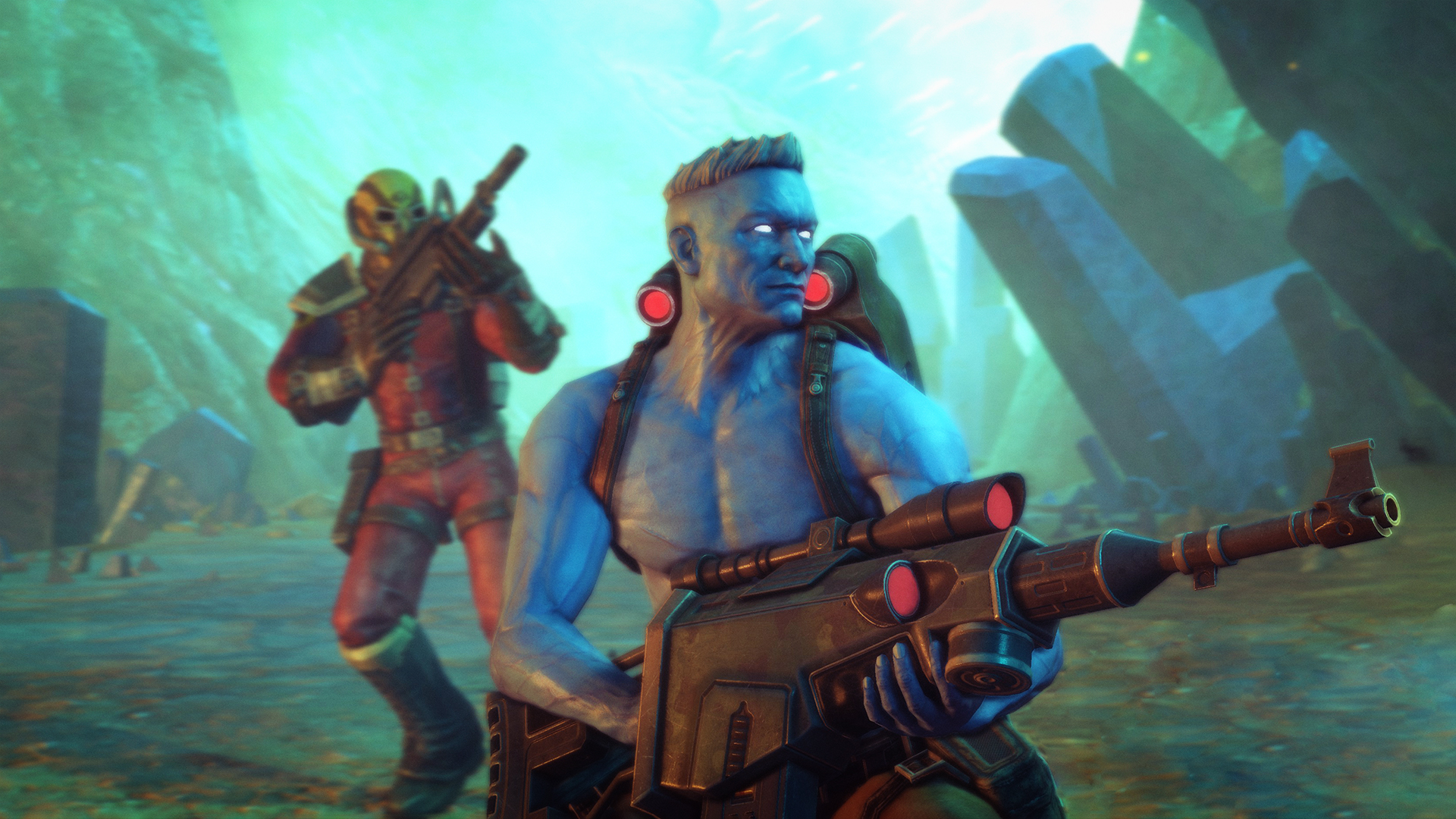 Rogue Trooper Redux is successfully resurrecting a cult hit shooter
