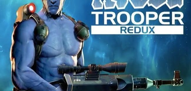 ROGUE TROOPER REDUX cover