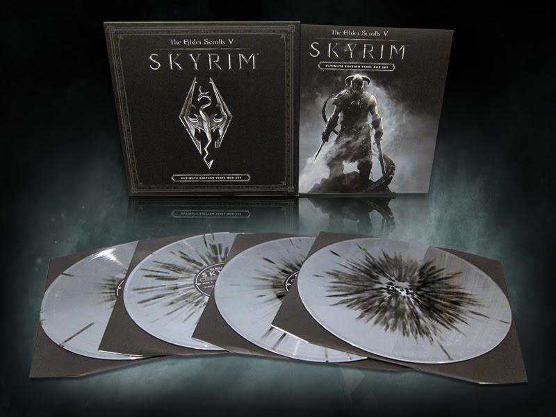 The Elder Scrolls V: Skyrim Soundtrack Vinyl Edition Box