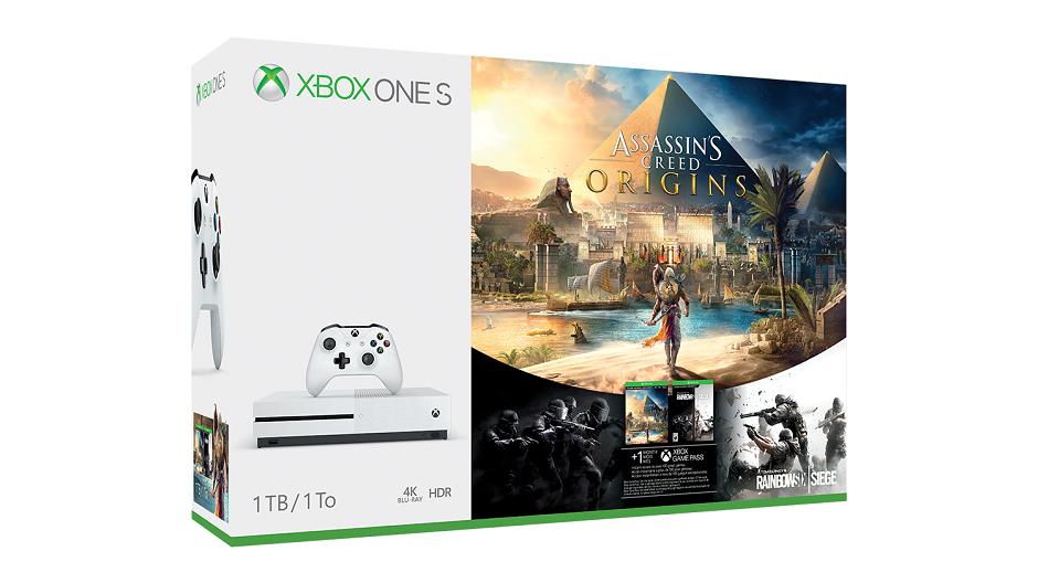 Assassin's Creed Origins Xbox One S 1TB Bundle