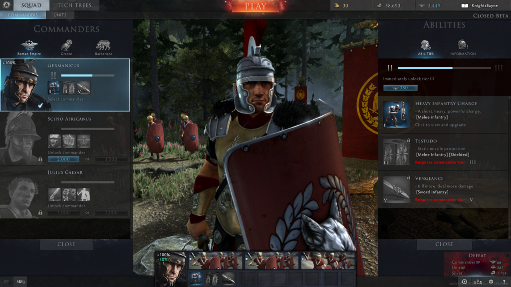 Matchmaking total war arena