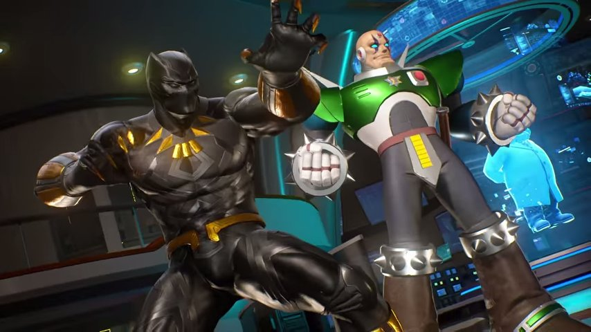 MvC Infinite: Black Panther and Sigma