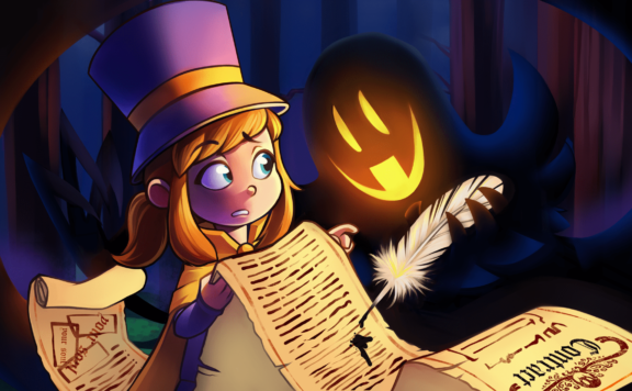 A Hat in Time consoles