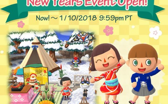 CELEBRATE NEW YEARS IN ANIMAL CROSSING