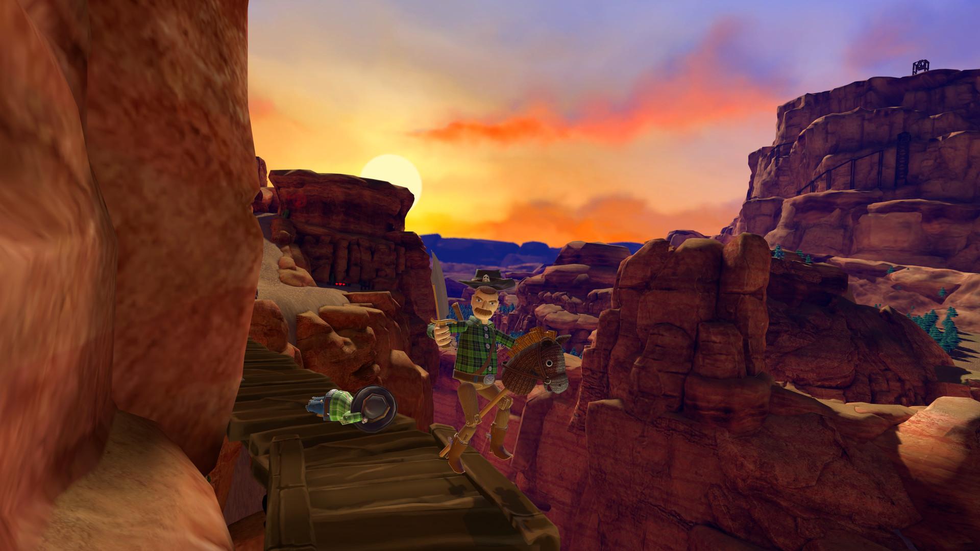 Hopalong The Badlands Invites You to a VR Wild West, Pardner