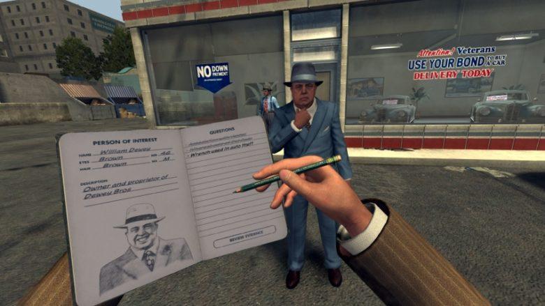L.A. Noire The VR Case HTC Vive