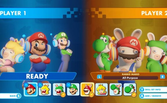 Mario + Rabbids Kingdom Co-Op