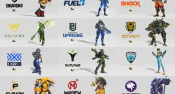 Overwatch League Tokens Skins Teams