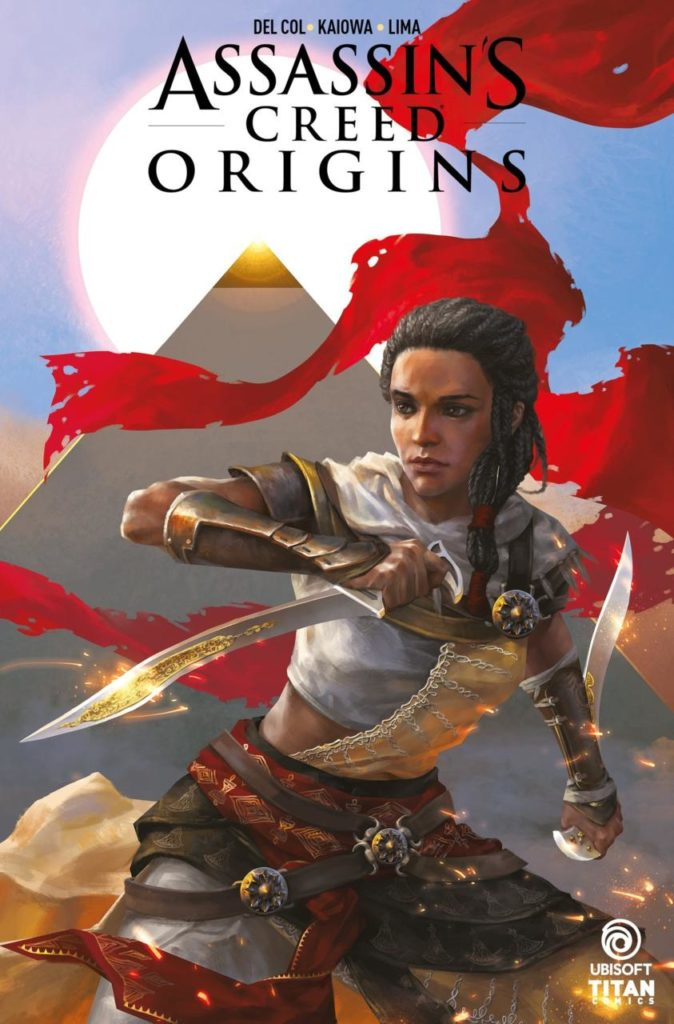 ASSASSIN'S CREED ORIGINS VARIANT COVER