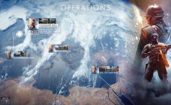 Battlefield 1 Operations Campaigns