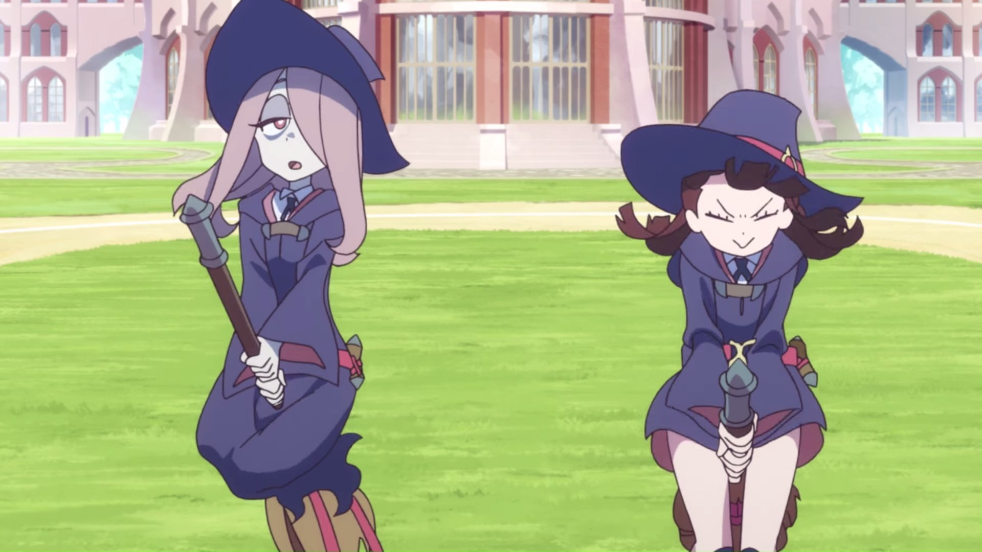 LITTLE WITCH ACADEMIA CHAMBER OF TIME