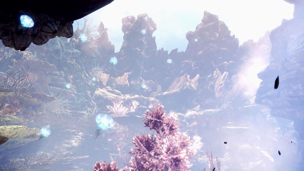 Monster Hunter World Coral Highlands