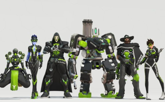 Overwatch League Team Skins Live