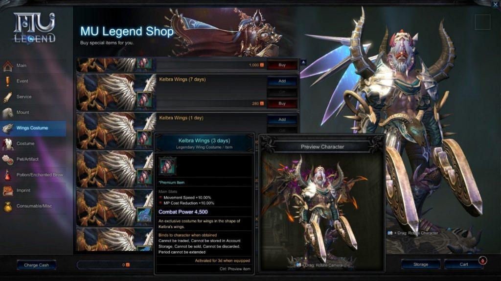 MU Legend Review - Legendary or DOA? - GameSpace com