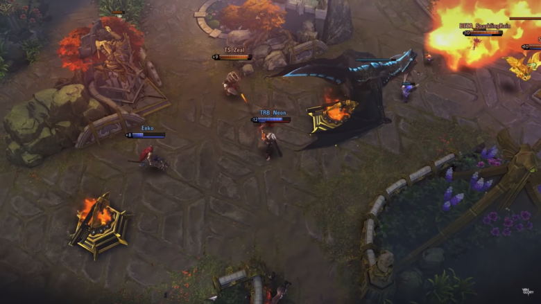Moba Vainglory Takes 5v5 Worldwide With Update 3 0 Gamespace Com
